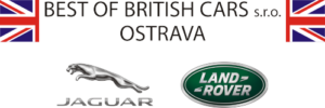 Best of British cars logo černé