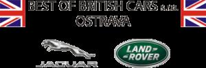 Best of British cars logo černé