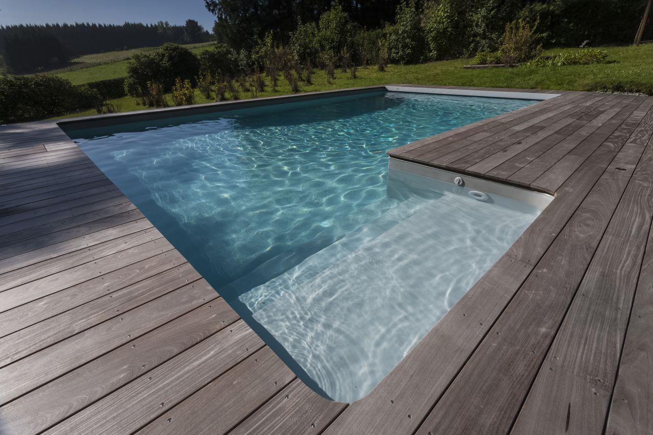 Bazén do země na klíč