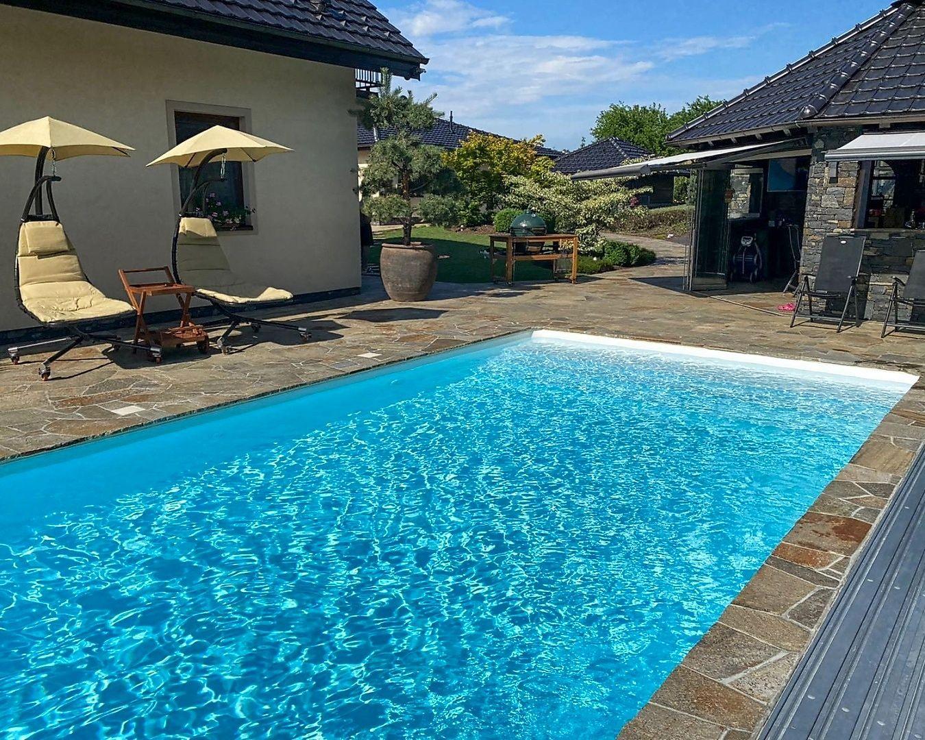 Bazén s fólií